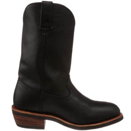 Dan Post Mens Dp69680 Albuquerque Pull-on Boot Zwart