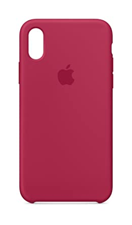 outlet store 1e999 a3dc5 Apple MQT82ZM/A Silicone Protective Back Cover for iPhone X - Rose ...