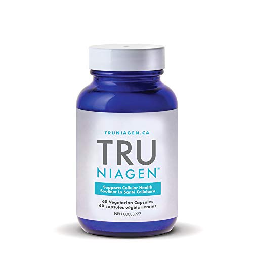 TRU NIAGEN - Nicotinamide Riboside NR | Advanced NAD Supplement | Vitamin B3 | Vegetarian Capsules | Developed by ChromaDex