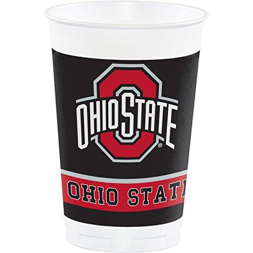 Ohio State University Plastic Cups, 24 ct -