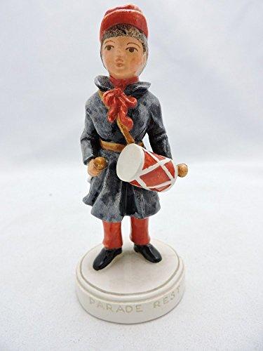 "Sebastian Miniatures Figurine # 6209 Drummer Boy ""Parade Rest"""