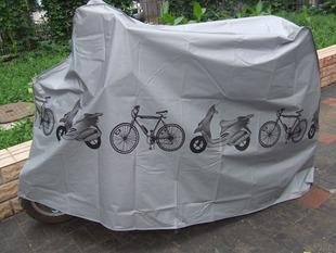 KLOUD City Grey Polyester Waterproof Bike Bicycle Cover by KLOUD City (Image #2)