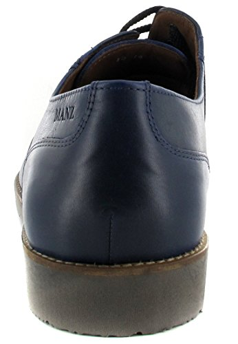 MANZ-nizza-homme-bleu-chaussures en matelas grande taille