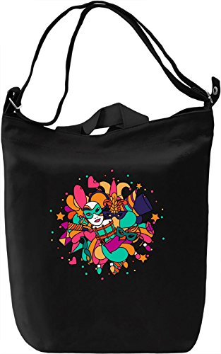 Carnival Borsa Giornaliera Canvas Canvas Day Bag| 100% Premium Cotton Canvas| DTG Printing|