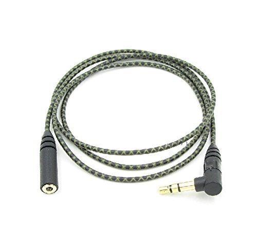 hihouse Audio Cavo di prolunga audio cavo Jack per cuffie auricolari per Sennheiser IE800/IE 800/auricolare senza microfono