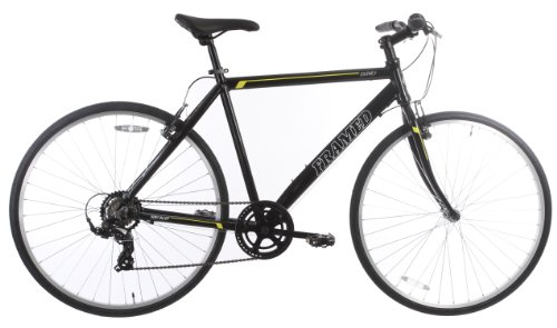 Review Framed Journey Men's Bike Black/Yellow/White 19in