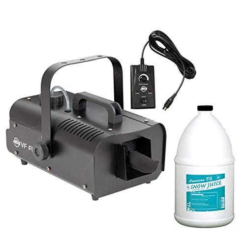 American DJ ADJ VF Flurry Snow Machine Flake Effect w/Remote & Snow Fluid Gallon