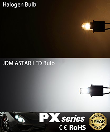 JDM ASTAR 10pcs Super Bright 194 168 175 2825 T10 PX Chipsets LED BulbsXenon White Best Value On The Market