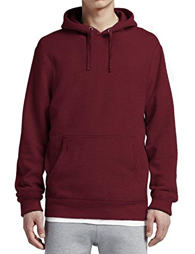 Hoody Burgundy Pullover (Hat and Beyond HC Mens Pullover Hoodie (2X-Large/hc09_Burgundy))