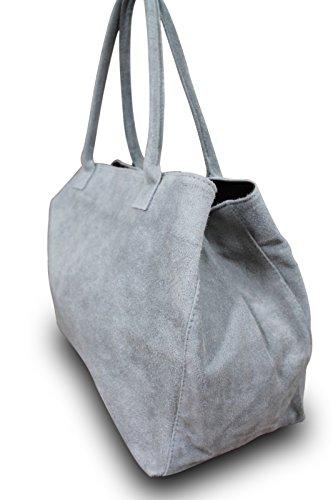 My-Musthave - Bolso al hombro para hombre Azul azul oscuro medium gris claro (grey 801)