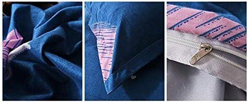 Collections literie Accueil Coton literie givré de Jeu de Couverture de Feuilles Simples zm0502 (Color : 17, Size : XL)