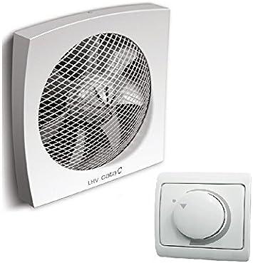 Pared/ventana/ventilador/ventilador CATA LHV-160/SET con regulador ...