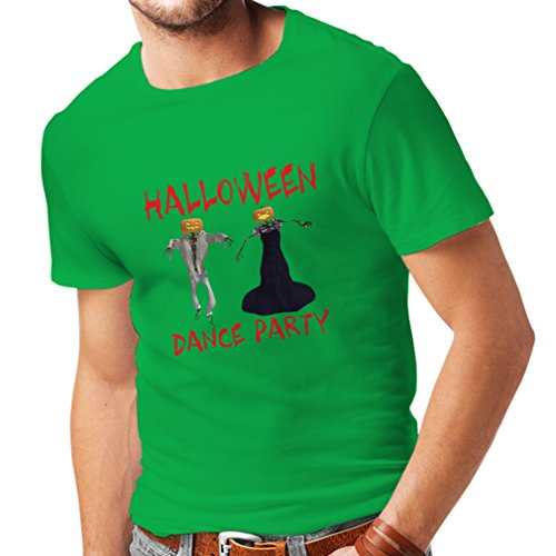 T Shirts for Men Cool Halloween Party Events Costume Ideas, (X-Large Green Multi Color)]()