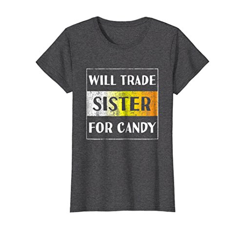 Womens Funny Brother Sister Shirt Halloween Easter Gift