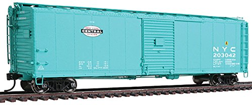 WalthersProto - 50' AAR Single-Door Boxcar - New York Central #203042 - Jade Green with Small System Logo on Left - Ready to Run - HO Scale (Boxcar Aar Door Single)