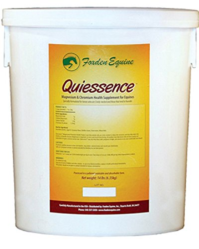 Image of Quiessence Foxden Equine 14 lb Banana Flavored Magnesium Pellets Founder Calming Sore Muscle Supplement