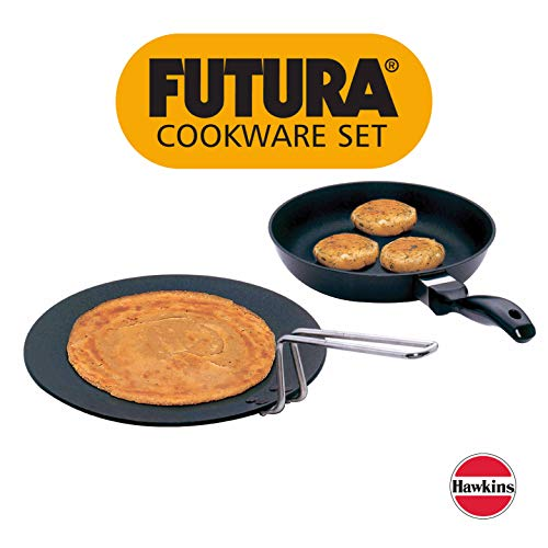 Hawkins Futura Nonstick Cookware Set 5, QS6 (Contains 2 Products) Price & Reviews