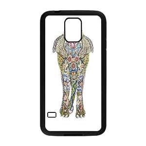 Unique Design -ZE-MIN PHONE CASE- For Samsung Galaxy NOTE4 Case Cover -Animal Elephant Pattern-CUSTOM-DESIGH 5