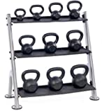 Hampton 3-Tier Horizontal Kettlebell Rack