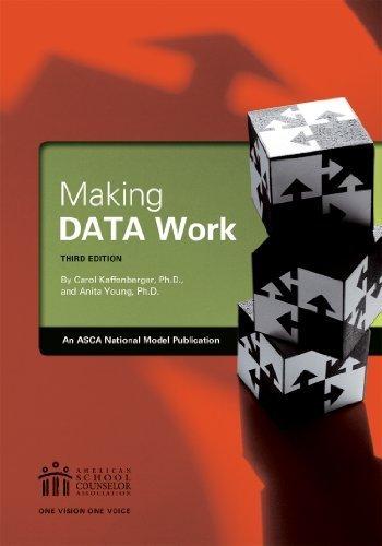 Making Data Work 3rd edition by Carol Kaffenberger, Anita Young (2013) Paperback