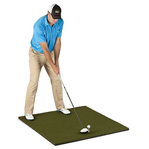 PureShot Tour Pure Golf Hitting Mat (4'x4′)