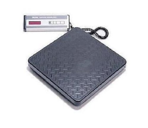 Siltec Bench Scale 500 lb x 0.5 lb,Heavy Duty for Weighing Shipping, PS-500L Size 12