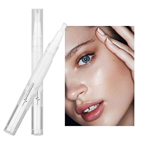 Pudaier 5ml Invisible Double Eyelids Gel - Natural Long Lasting Eyelid Glue Pen with Y Shape Fork