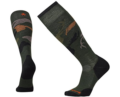 (SmartWool PhD Slopestyle Light Revelstoke Sock - Forest Small)