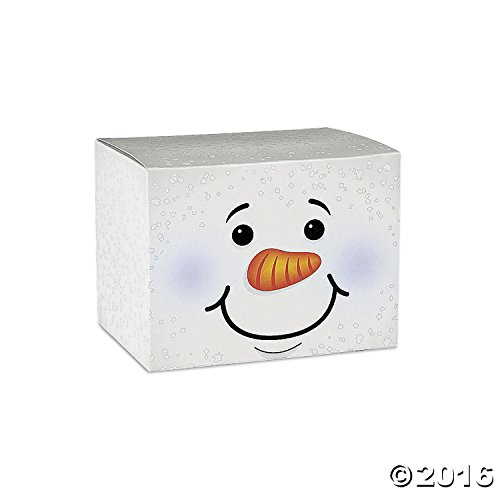 HOLIDAY SNOWMAN GIFT BOXES Dozen product image