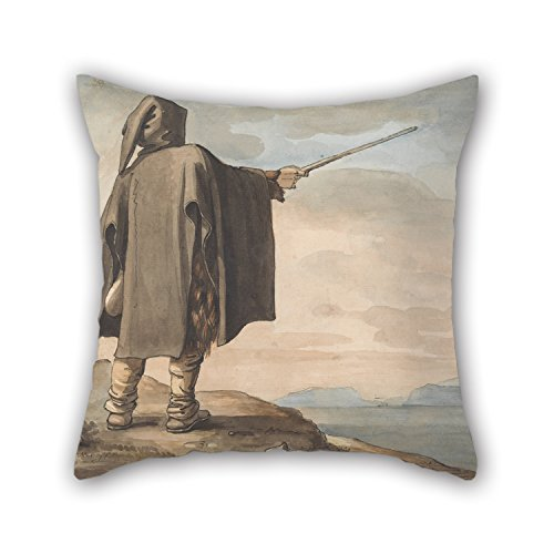 Slimmingpiggy Oil Painting Henry Tresham - A Peasant Of Mount Erix Pillow Shams 20 X 20 Inches / 50 By 50 Cm Best Choice For Boys,dance Room,him,indoor,husband,deck Chair With 2 Sides