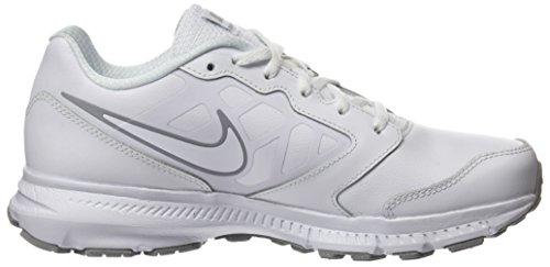 Nike 832883-100, Zapatillas de Running para Niños Blanco (White / White / Wolf Grey)