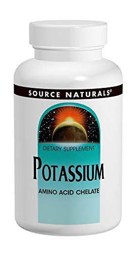 Potassium Amino Acid Chelate 99mg Source Naturals, Inc. 100 Tabs