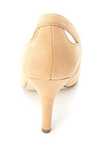Style & Co.. Womens Zabrina Leather Closed Toe Classic Pumps Cream NtpuK4n