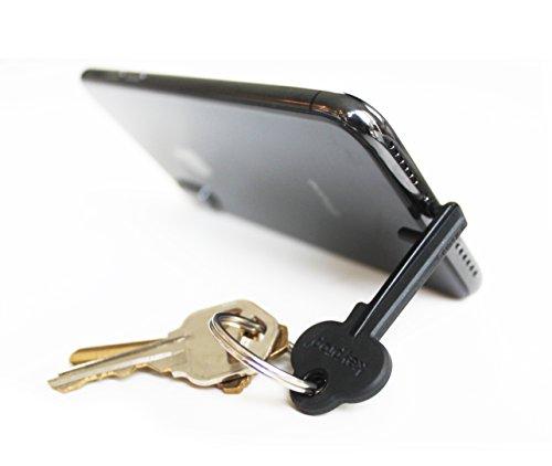 Keyprop: Keychain Tripod (Black) (Tripod Keychain)