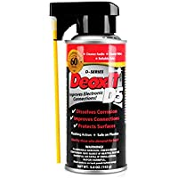 Hosa D5S-6 CAIG DeoxIT 5% Spray Contact Cleaner, 5 oz.