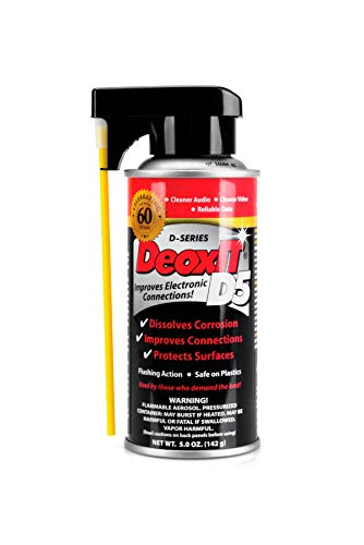 - Hosa D5S-6 CAIG DeoxIT 5% Spray Contact Cleaner, 5 oz.