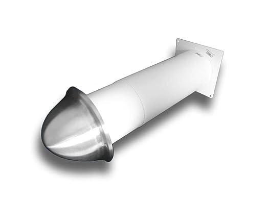 Rejilla de ventilación con campana de aire de acero ...