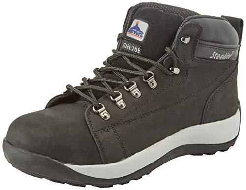 Nubuck Sécurité black Chaussures Boot Homme Portwest Cut Sb Eu Mid De 43 Steelite Noir qxtApH