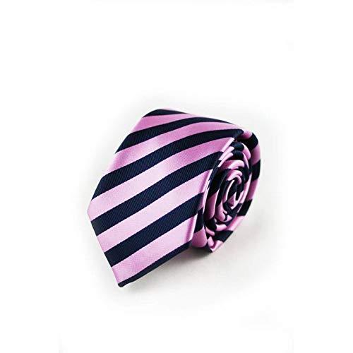 VIZENZO Corbata raya rosa: Amazon.es: Ropa y accesorios