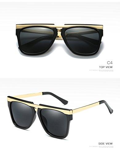 Hombre De C2 Aviator Polarizadas 400 para para Protección Mujer Sol UV C3 Gafas q0fdH6w0