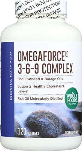 Whole Foods Market, OmegaForce 3-6-9 Complex, 120 ct