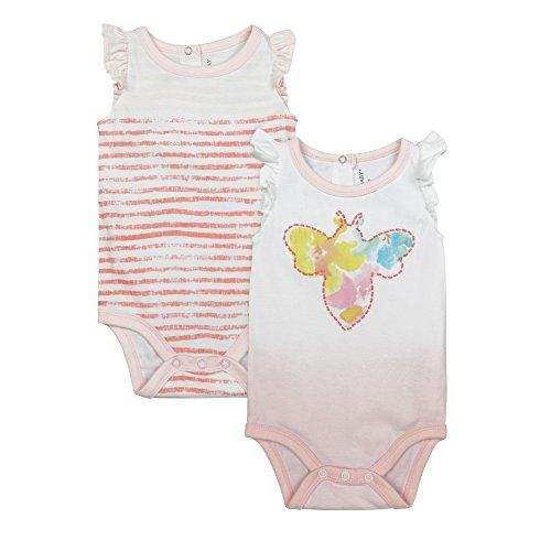 Burts Bees Baby Sleeveless Bodysuits