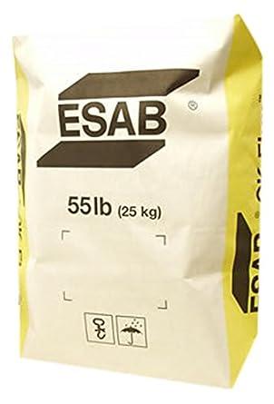 AES W.0294-F ESAB OK 10.92 S/S - Flujo de arco