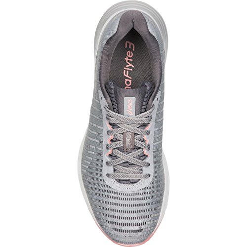 Dynaflyte Shoe 3 Womens ASICS Size Midgrey 9 Running White gw1zxnqaR