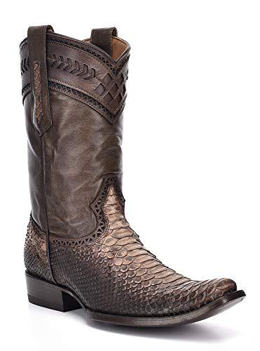 (Cuadra 1J06PH Python Urban Ankle Boots (12 D(M) US, Antique Saddle) )