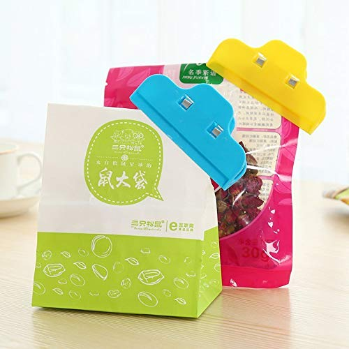 LSGDSXMIY Plástico grande clip de sellado de alimentos bolsa ...