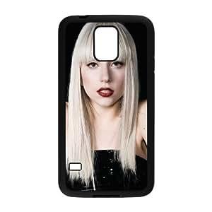 QSWHXN Customized Print Lady Gaga Hard Skin Case For Samsung Galaxy S5 I9600