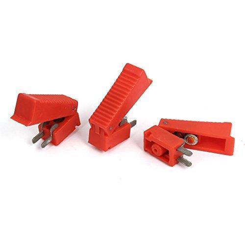 eDealMax 37mm 2 Terminales largo de CO2 pistola de soldadura cortador gatillo rojas 3 piezas - - Amazon.com