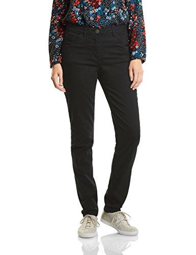 Janet Negro black Mujer Cecil Colours True 10001 Para Pantalones BfHqTdw