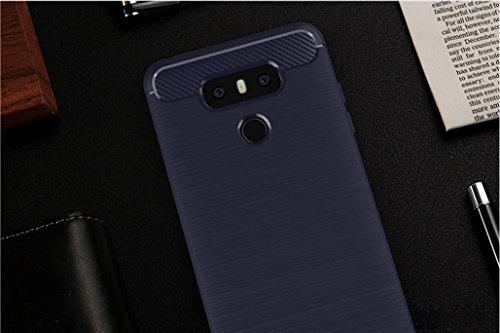 Funda LG H873,Funda Fibra de carbono Alta Calidad Anti-Rasguño y Resistente Huellas Dactilares Totalmente Protectora Caso de Cuero Cover Case Adecuado para el LG H873 C